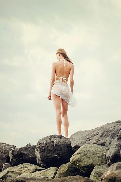 bikini back