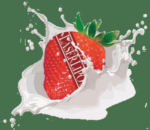 strawberry splash transparent